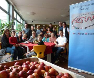 Apfelfest am Hüffertgymnasium