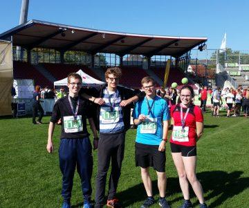 Hüffertgymnasium erfolgreich beim Kassel Marathon