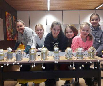Wir sind KREATIV: der Kreativ-Workshop des Hüffertgymnasiums