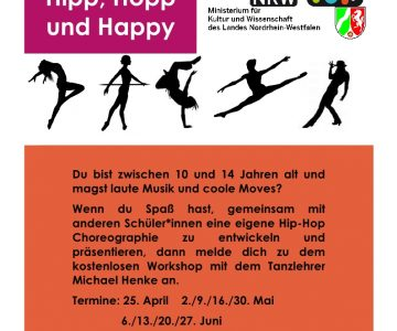 Hip-Hop-Workshop am Hüffertgymnasium