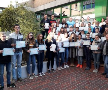 62 Schüler erhielten Sprachzertifikate