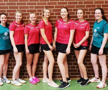 Tischtennis-Teams werden Bezirksmeister