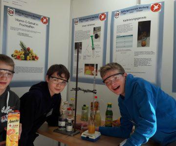 Erfolg bei Jugend-forscht