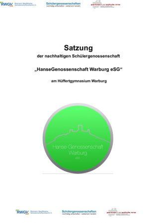 thumbnail of Satzung HanseGenossenschaft Warburg 2019