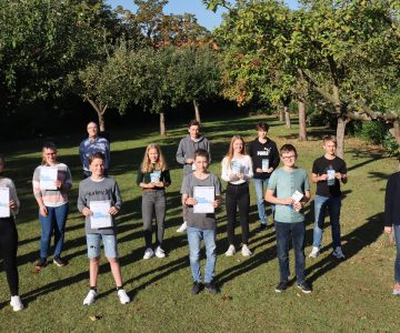 Hüffertgymnasium überreicht den Förderpreis der Wirtschaft