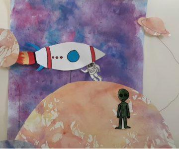 Kreatives im LiD – Mars-Mission im Kunstunterricht